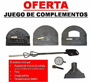 Oferta lote complementos